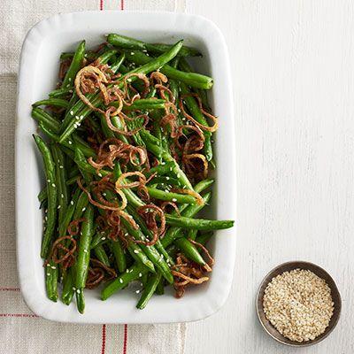 Sesame Garlic Ginger Green Beans Recipes — Dishmaps