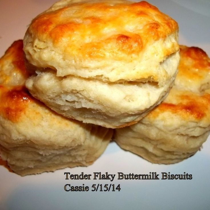 Tender, Flaky, Buttermilk Biscuits Recipe | Just A Pinch Recipes