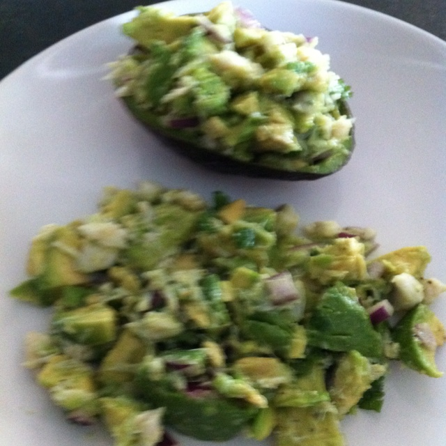 Avocado and Crab Salad | Yummy Foodstuffs | Pinterest