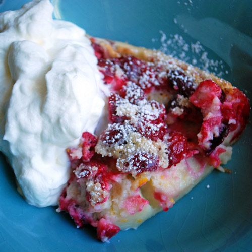 Cranberry Orange Clafouti (Flaugnarde) | Decadently Delectable Dishes ...