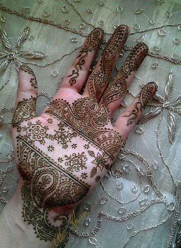 Unique Hand Mehandi Designs Image 5