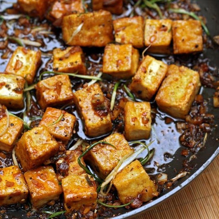 Black Pepper Tofu Recipe | Eat Clean and Train Dirty | Pinterest