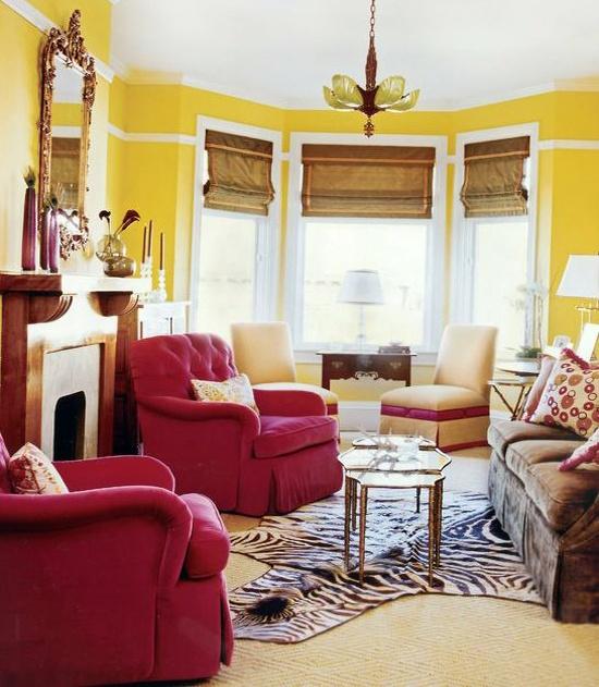 Art Deco Living Room Enchanting Decorating Design