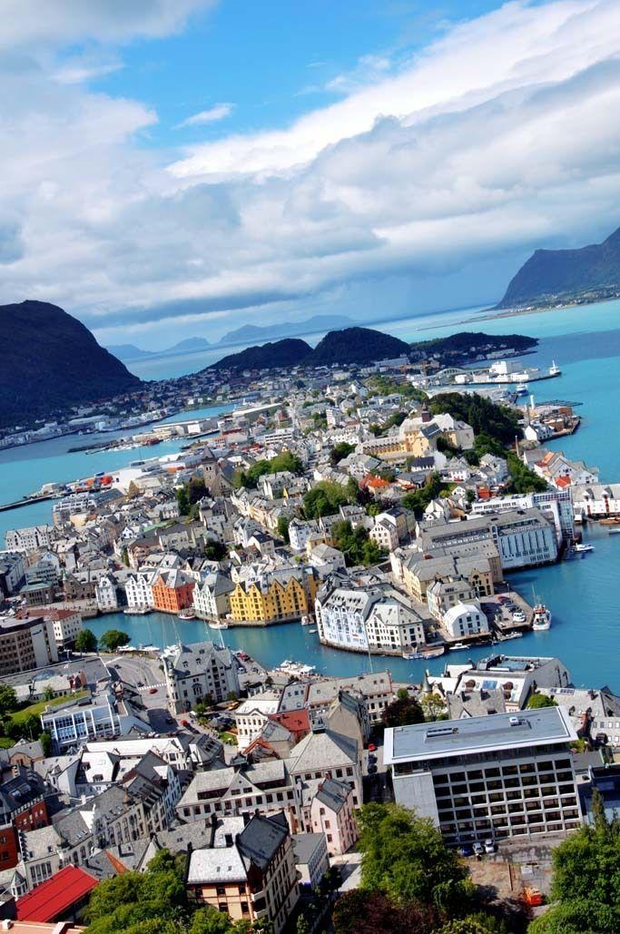 Alesund Norway  city images : Alesund, Norway | travel | Pinterest