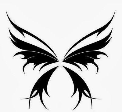 Male butterfly tattoo designs 2014