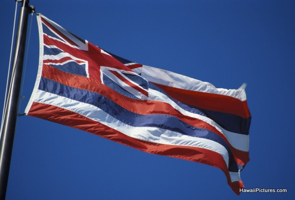 picture of hawaiian flag