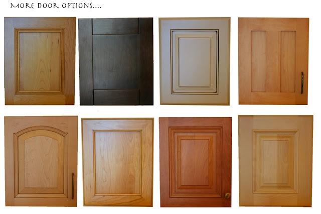 Cabinet door types loxley pinterest for Different types of doors