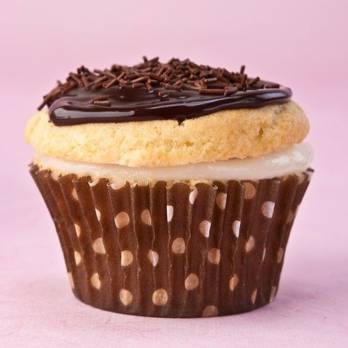 Boston Cream Cupcakes | piece of cake)) | Pinterest