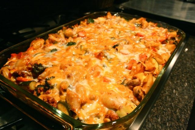 Turkey and Veggie Pasta Bake | Pasta | Pinterest