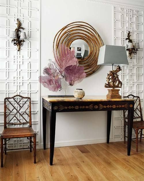need this type of table for my makeshift foyer