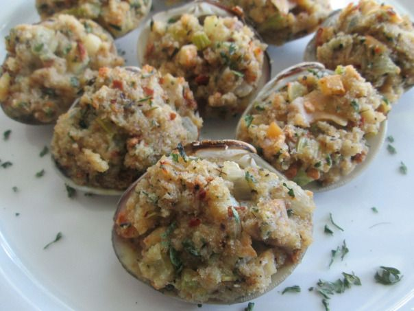 Easy Baked Stuffed Clams | Simply Bitten Kitchen