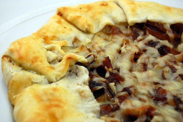 Rustic Onion Tart Recipe — Dishmaps