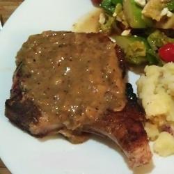 Simple Pan-Fried Pork Chops | Food | Pinterest