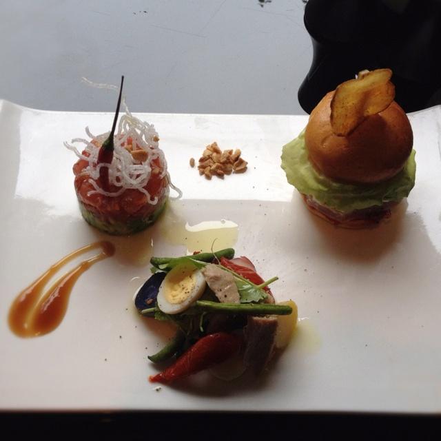 Tuna, tartare, slider & nicoise, | Foodie Favorites | Pinterest