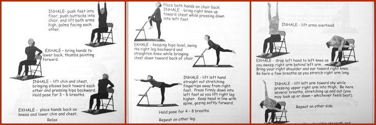 Chair Yoga Chair Yoga