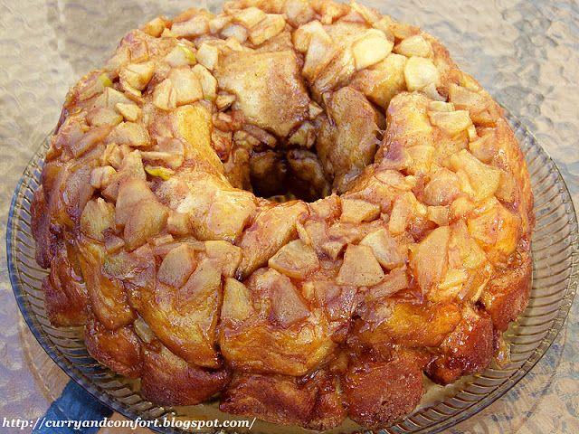 Apple Cinnamon Monkey Bread | Sweet Treats | Pinterest