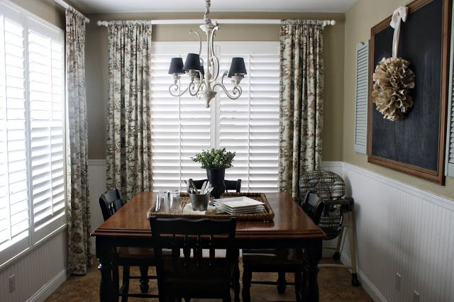 Curtains with Plantation Shutters   Home   Pinterest