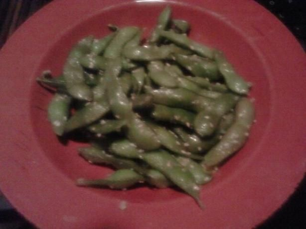 Finger Licking Sesame Edamame. I think I found it! The recipe for the ...