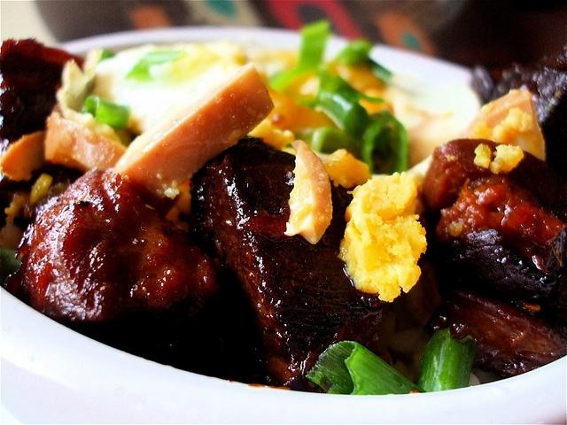 Burmese Red Pork Stew Closer | Soup's On! | Pinterest