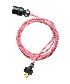 Cloth Extension Cord, for those cords that have no choice but to be in plain sight.