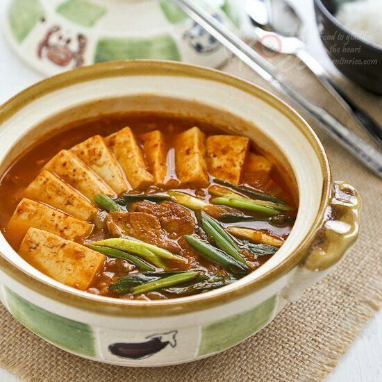 ... tofu recette soupe kimchi kimchi kimchi jjigae kimchi stew kimchi