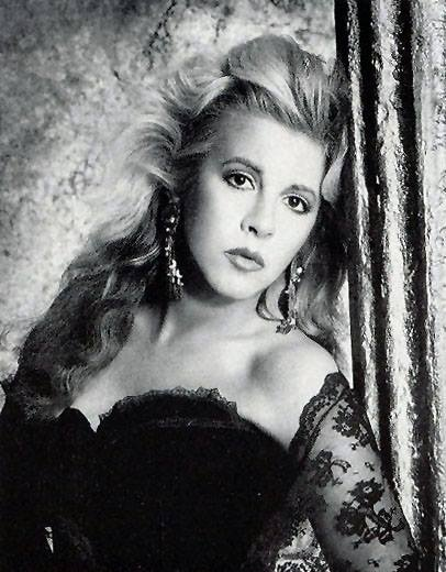 I have never seen this photo of Stevie before...she is gorgeous here....