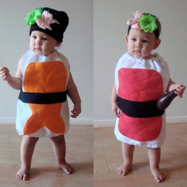Sushi Roll Costume Baby Bug
