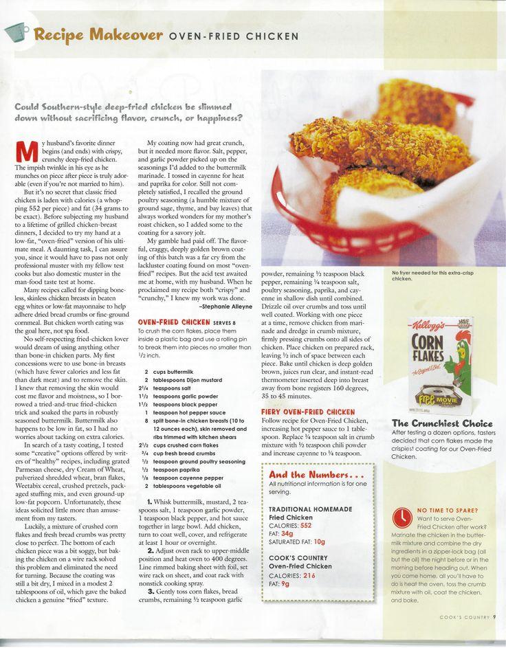 Crispy Baked Chicken Breast | Food | Pinterest