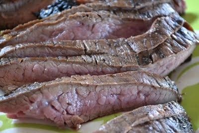 grilled balsamic flank steak | grill | Pinterest