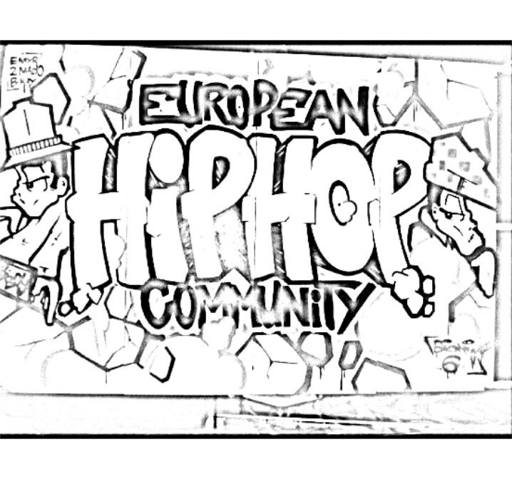 Hip hop harry coloring pages sketch coloring page for Hip hop coloring pages