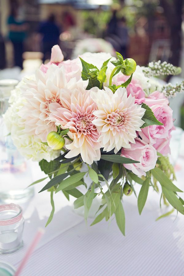 Bridal shower table centerpiece forever always pinterest for Bridal table arrangements