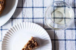 Tangerine and Almond Shortbread Tart | Recipe