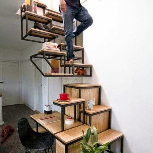 escalier original escaliers pinterest. Black Bedroom Furniture Sets. Home Design Ideas