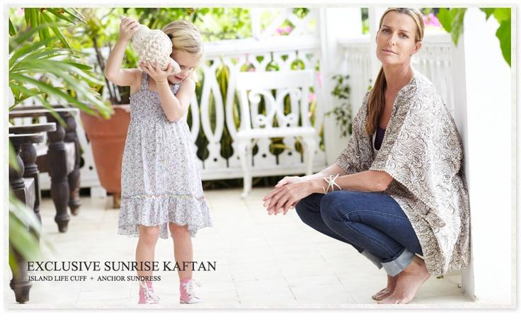 India Hicks Sunrise Kaftan | India Hicks Home | Pinterest