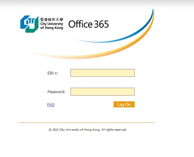 Office 365 Login @ Apr 2013 | CityU HK OCIO | Pinterest
