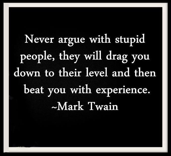 Haha... Oh you, Mr. Twain!