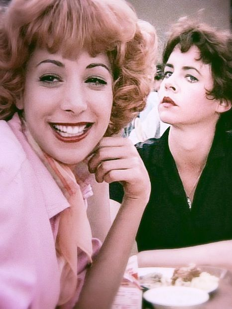Didi conn as frenchy amp stockard channing as rizzo grease