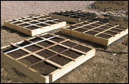 A Square Foot Gardening Layout for Raised Bed Gardening, Square Foot Garden Designs