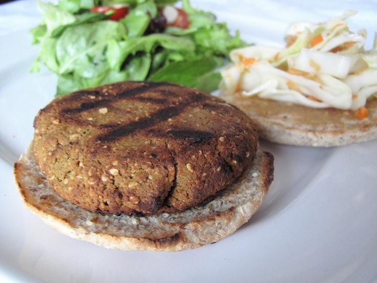 Sesame edamame burgers vegan glutenfree   Sandwiches n' Burgers - Ve ...
