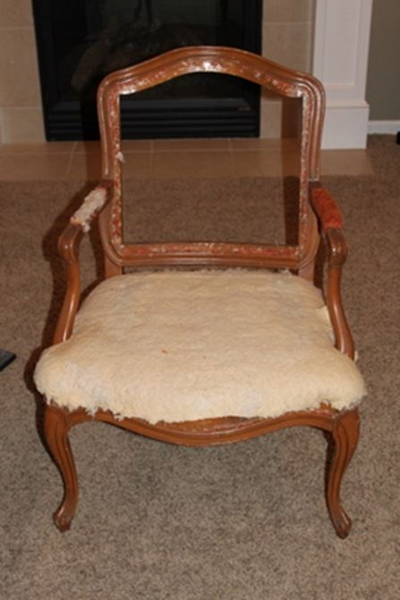 How to reupholster a chair house pinterest for How to reupholster a chair