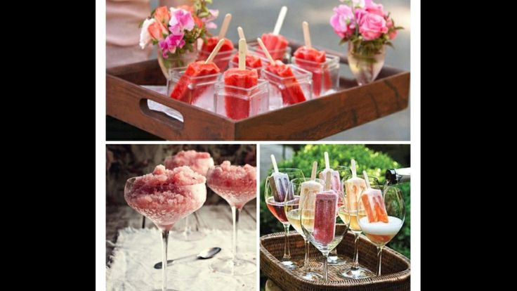 ... ice cubes with fruit chunks in sparkling wine! Sangria granita