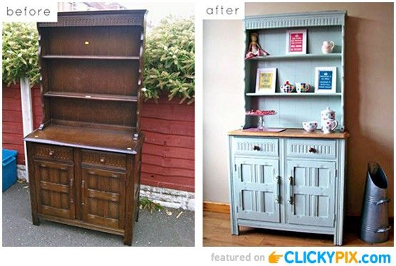 20 Before And After Furniture Makeovers DIY Furniture Pinterest