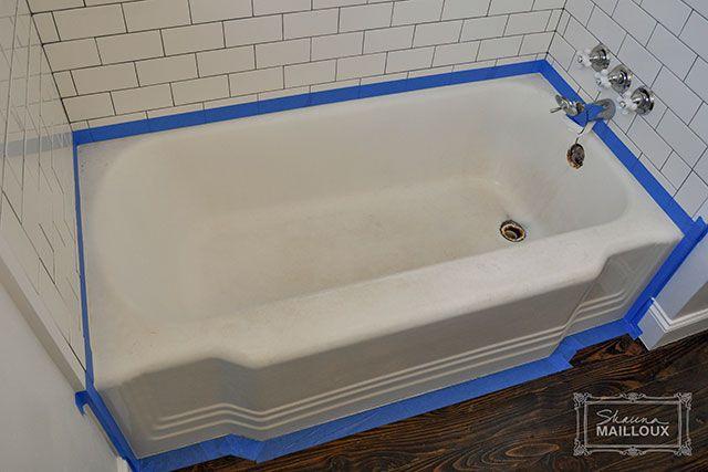 Diy Bathtub Refinishing For The Home Pinterest