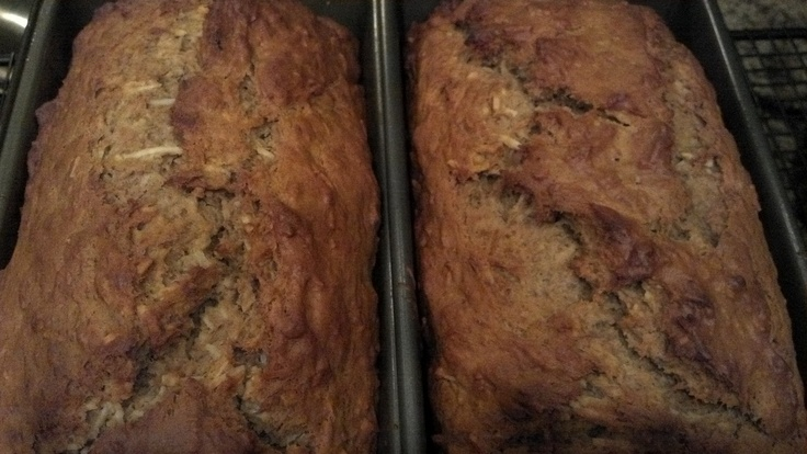 Coconut Rum Banana Bread | Recipes that I'll never remember to try ...
