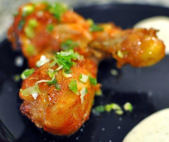 Sweet and spicy chicken drumsticks   Kitchening Around