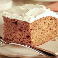 Pumpkin Spice Cake with Honey Frosting | recipes to try? | Pinterest