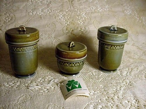 Vintage 3 WADE A.S. COOPER Made in Ireland Irish Pottery ...
