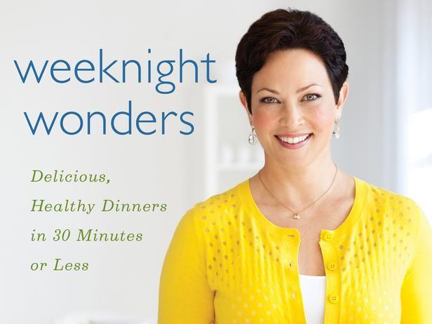 Ellie Krieger talks about her new cookbook, #WeeknightWonders, with @Food Network's Healthy Eats.