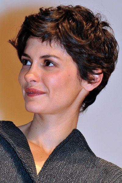 Audrey Tautou Pixie Haircut