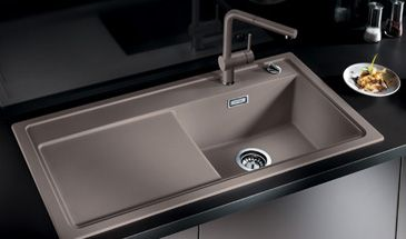 Blanco Sinks Website : ... of the a sink in the new SILGRANIT PuraDur coloured sink material